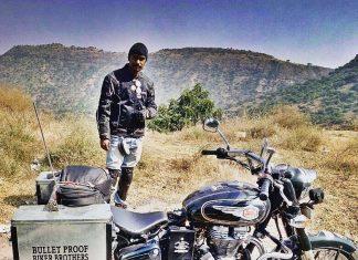 The biker wolf
