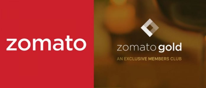 Zomato Gold launched in India