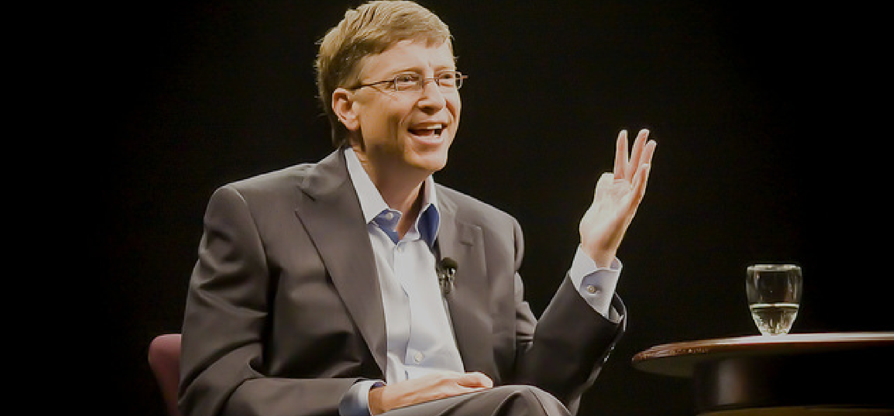 Bill Gates -Inspiring entrepreneurs