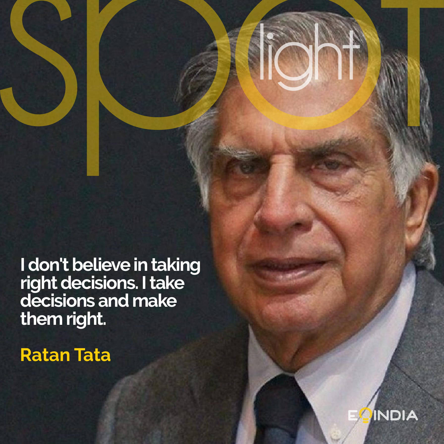 Ratan Tata- Great Entrepreneurs of the world