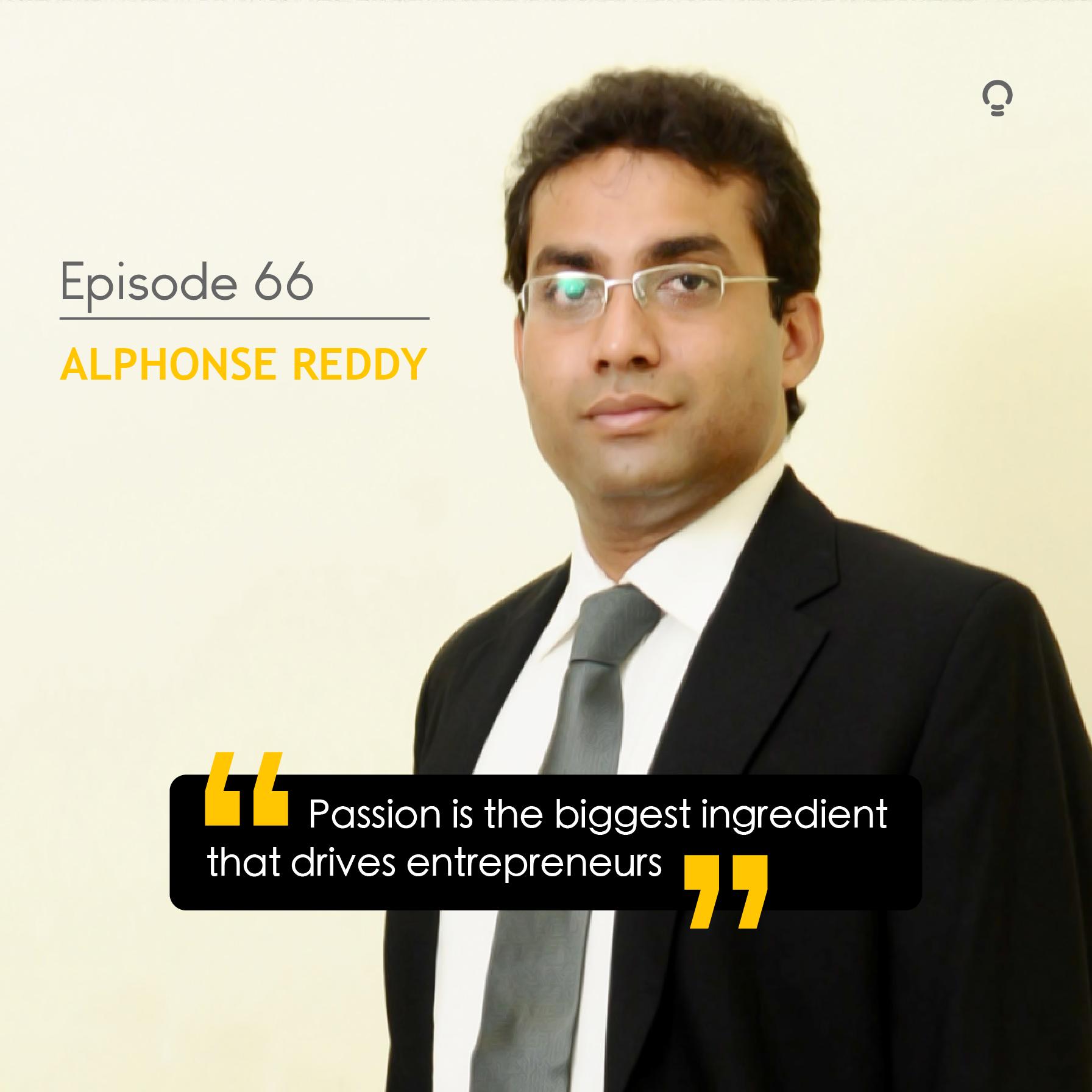 Startup story - Alphonse Reddy