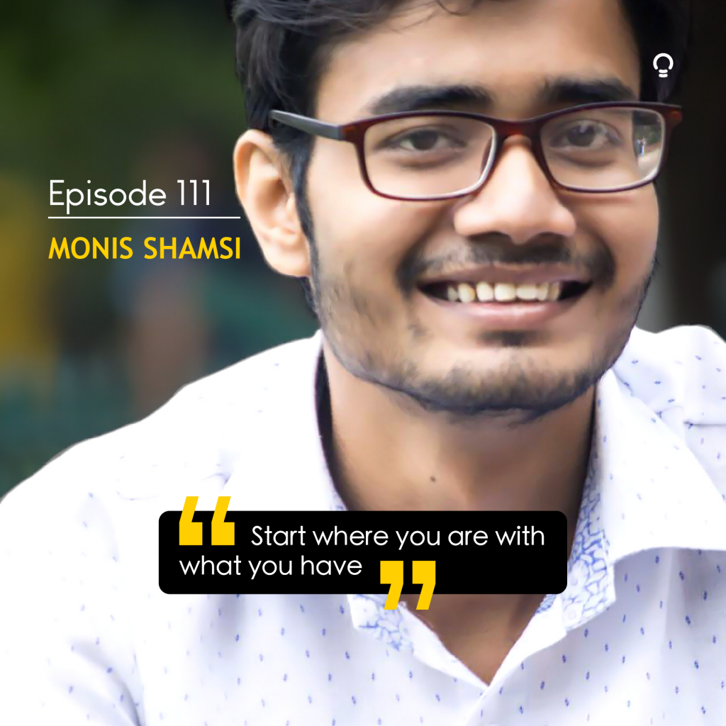 EOI Startup Stories - Monis Shamsi