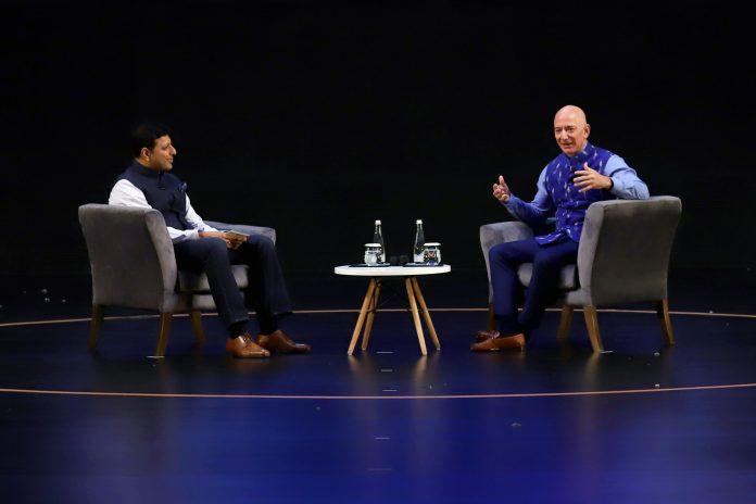 Latest startup news - Jeff Bezos in India